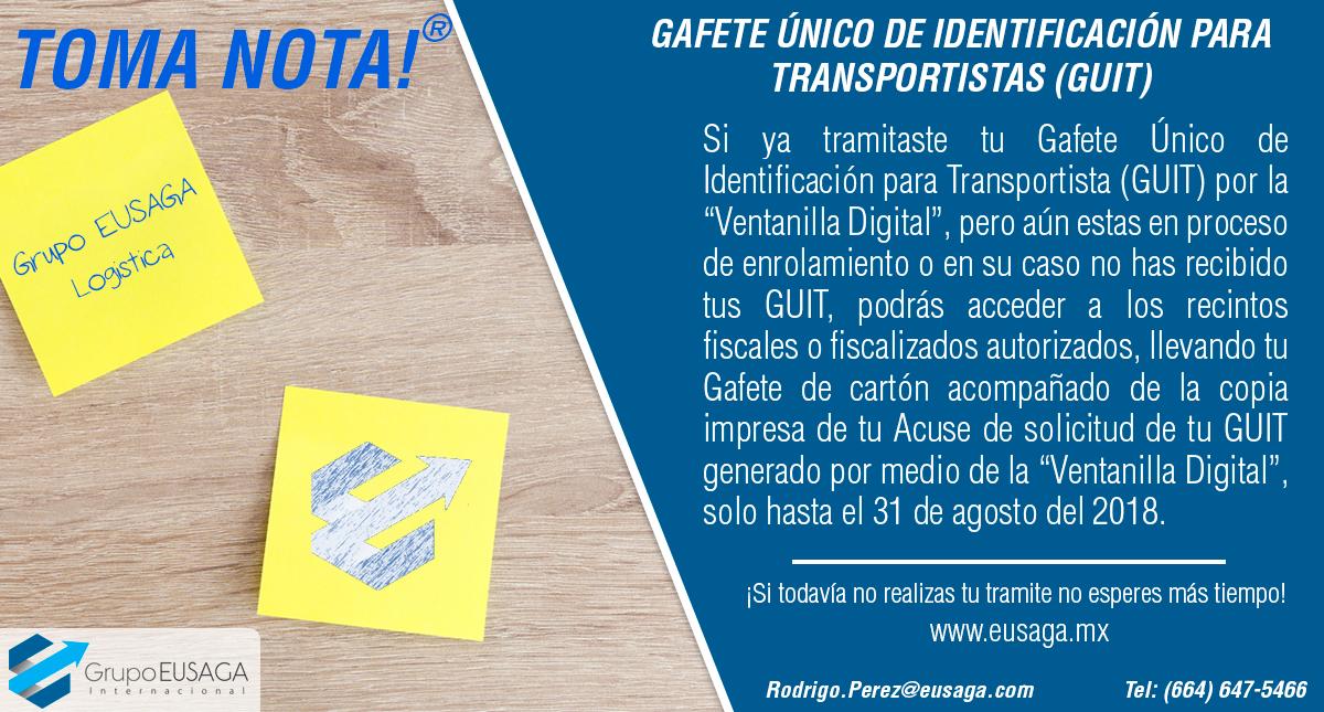 ¡TOMA NOTA! - Boletín P041