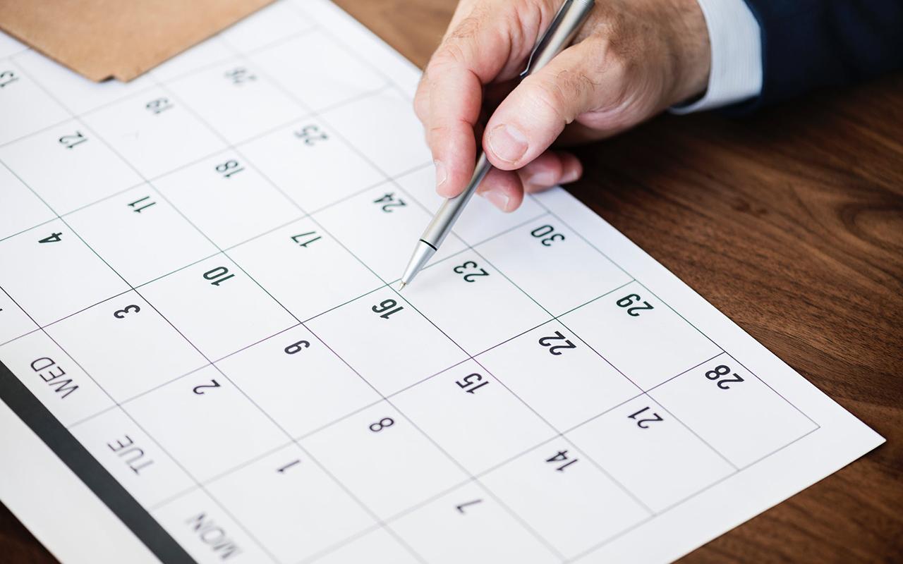 Calendario de Cursos EUSAGA