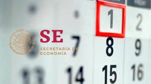 Días inhábiles de la Secretaría de Economía 2020