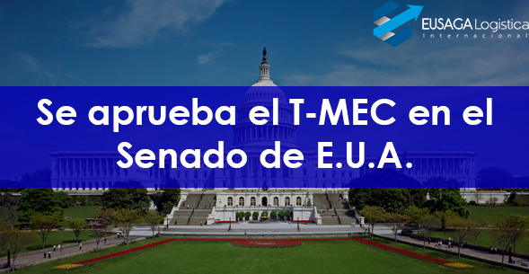 Se aprueba el T-MEC en el Senado de E.U.A.