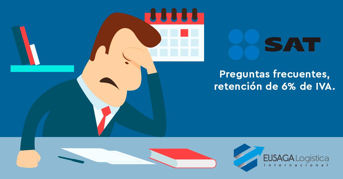 PREGUNTAS FRECUENTES: Retención del IVA.
